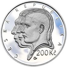 2019 Proof - 200 Kč Aleš Hrdlička - 150. výročí narození