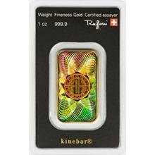 Argor Heraeus SA 1 Oz Kinebar TM - Investiční zlatý slitek
