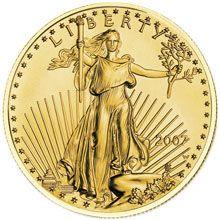 1/10 OZ American Eagle Gold Unc. - Investiční zlatá mince