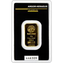 Argor Heraeus SA 10 gramů - Investiční zlatý slitek