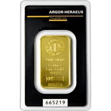 Argor Heraeus SA 1 Oz - Investiční zlatý slitek