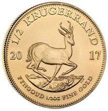 2257e01c6 Náhled - Kruger Rand 1/2 Oz Unc. - Investiční zlatá mince