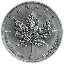 Náhled - Maple Leaf  1 Oz Palladium