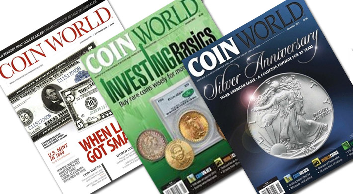 Coin World magazin