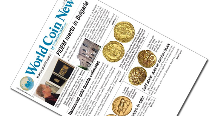 World Coin News magazin