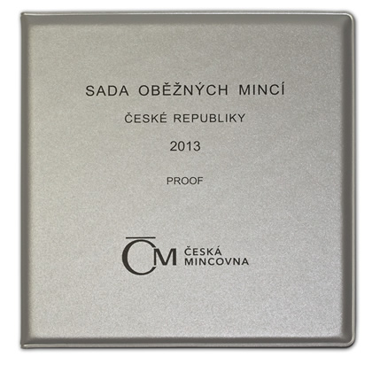 Oběžné mince 2013 proof