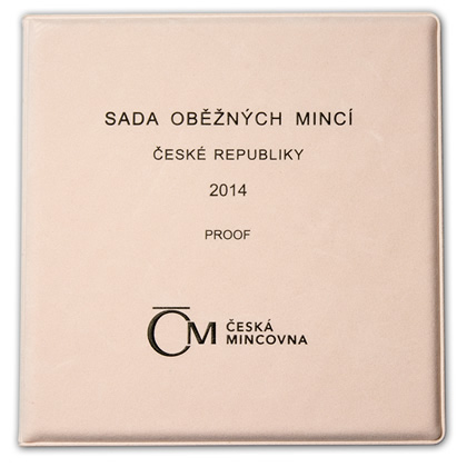 Oběžné mince 2014 proof