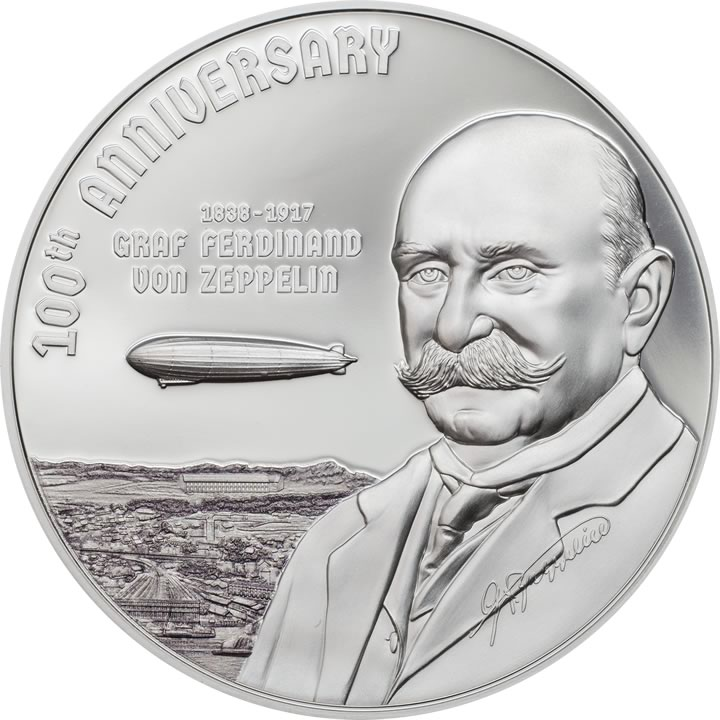 2017 Cook Islands - 100th Anniversary Graf Zeppelin Proof