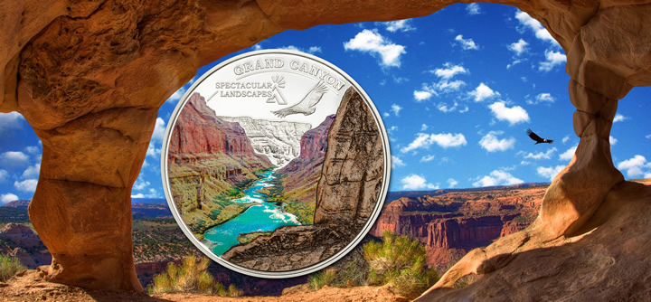 2014 Cook Island - Spectacular Landscapes - Grand Canyon - Ag Proof