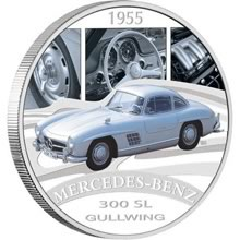 Náhled Averzní strany - 2006 Int. Classic Cars - Mercedes Benz 300 SL Gullwing Ag Proof 1 Oz