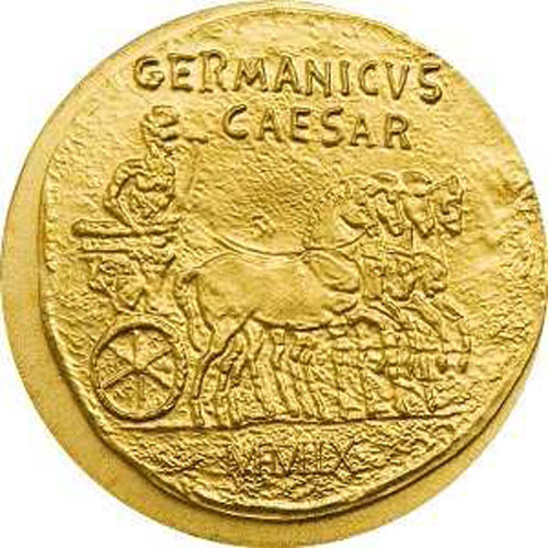Náhled - $ 1 - Roman Empire Series - Germanicus - B.U. 2009