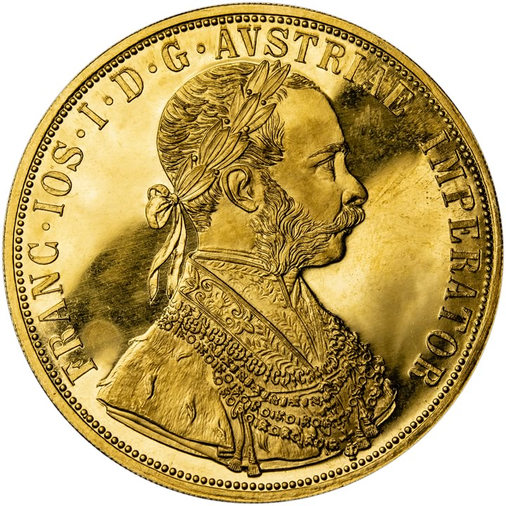 6a80332b1 4Dukát 1915. Rakouská zlatá mince.