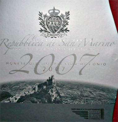 San Marino Mint Set 2007