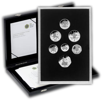 Emblems of Britain Silver Proof Set