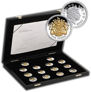 25th Anniversary £1 Silver Proof Collection