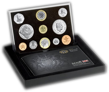 UK Mint Set Proof 2008