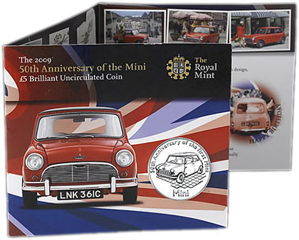50th Ann. of the Mini Coin Pack